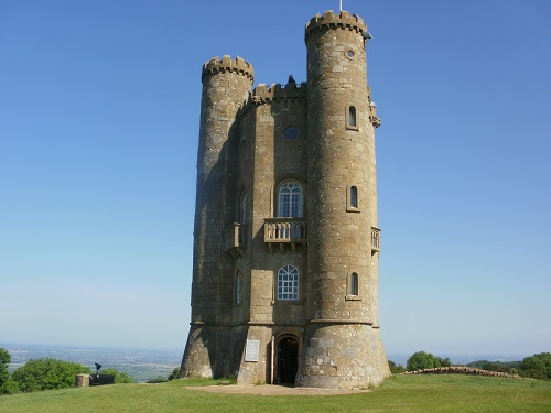 Broadway Tower, near the beginning of the Cotswold Way