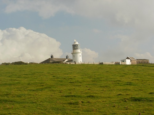 St. Bees lighthouse on St. Bees Head