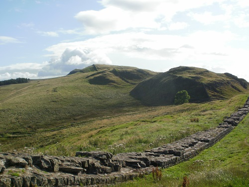 Part of the Hadrian's Wall section of the Pennine Way