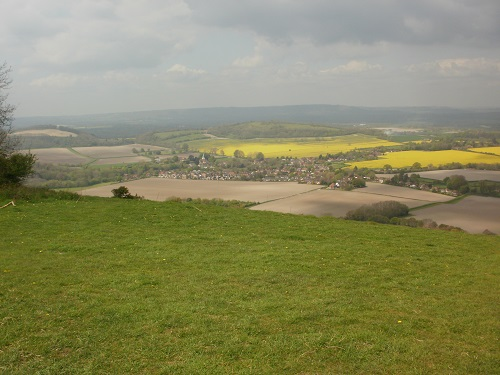 Looking down towards South Harting