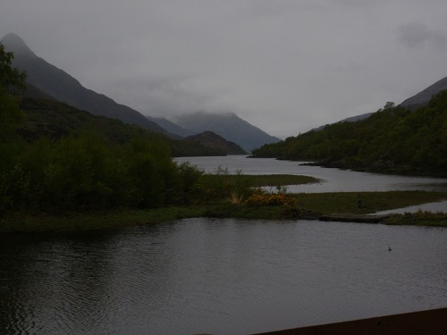 Looking along Loch Leven from Kinlochleven